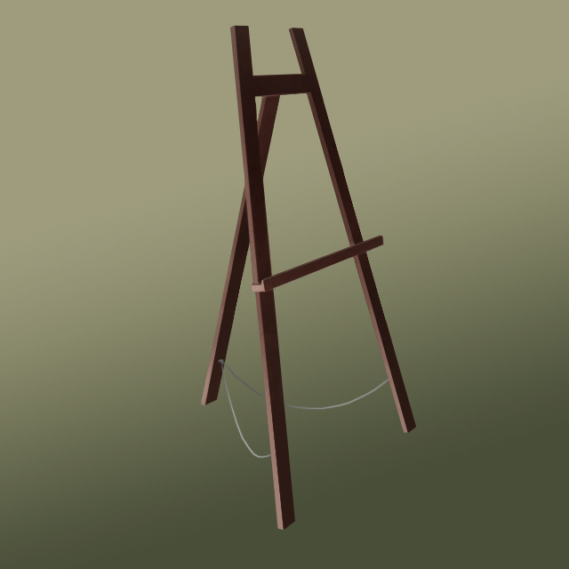 The 'Big' 160 Easel Brown