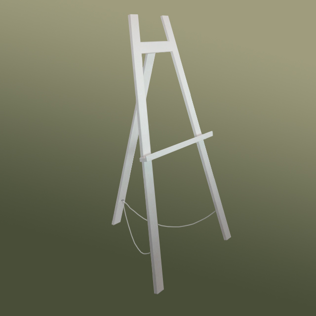 The 'Big' 160 Easel White