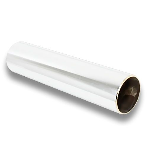 Brass Rod Rail 3m, white