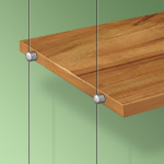 Wooden Shelf Supports