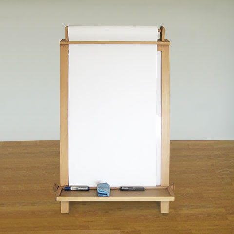 Children / Kid's Easel, with Paper Roll