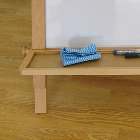 Children / Kid's 'Paper Roll' Easel - Adjustable / Removable Shelf
