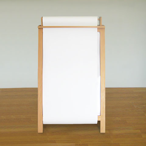 Children / Kid's 'Paper Roll' Easel - Without Shelf