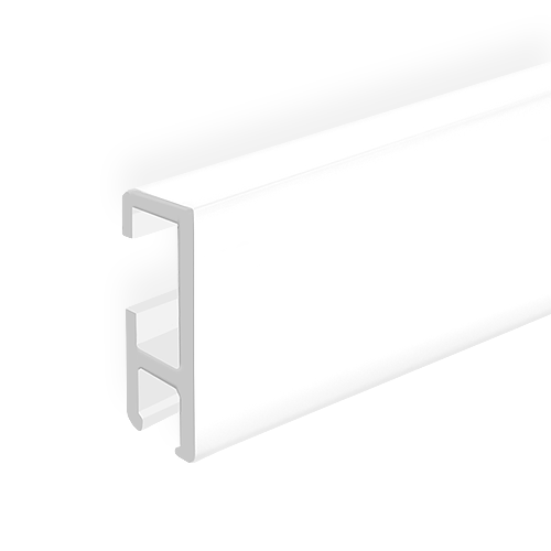 "Clip Rail Extra, white 2m (6ft 6"")"