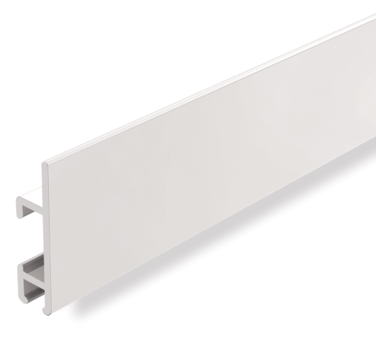"Clip Rail Max Heavy Duty, white 2m (6ft 6"")"