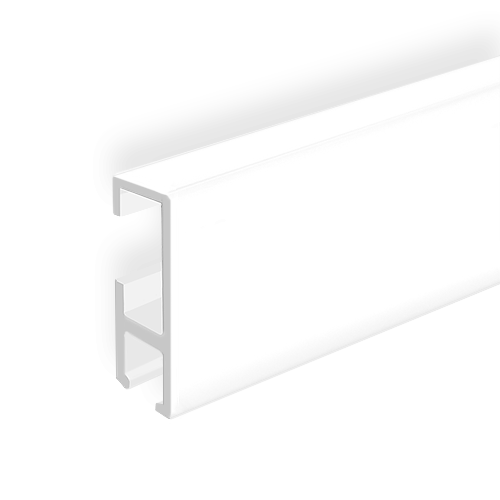 "Clip Rail, white 2m (6ft 6"")"
