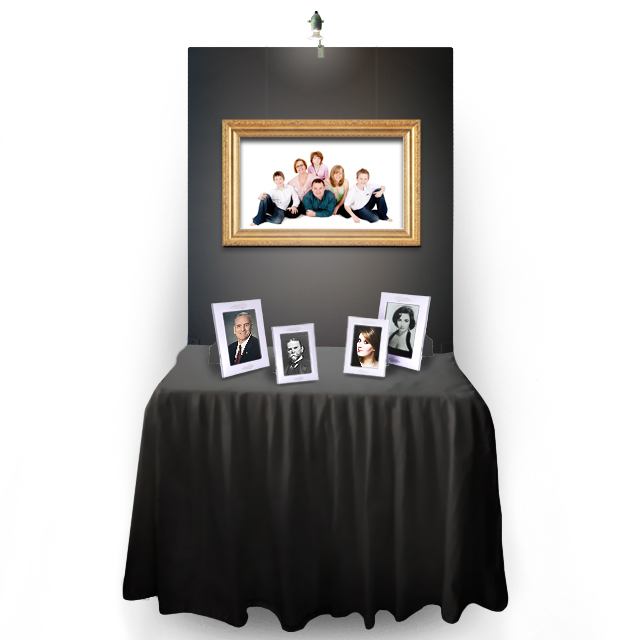 NEW* Expo Table/Memory Table + Expo Screen - Black