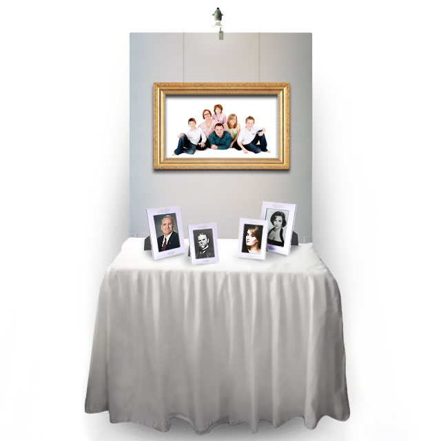 NEW* Expo Table/Memory Table + Expo Screen - White