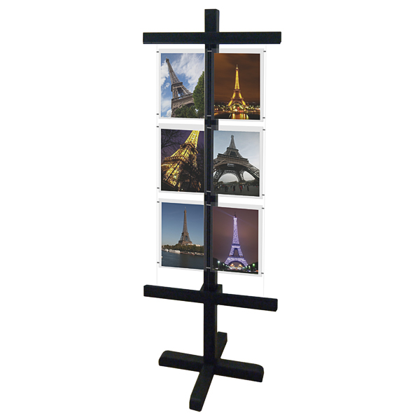 Free Standing Display (A4) - Wood
