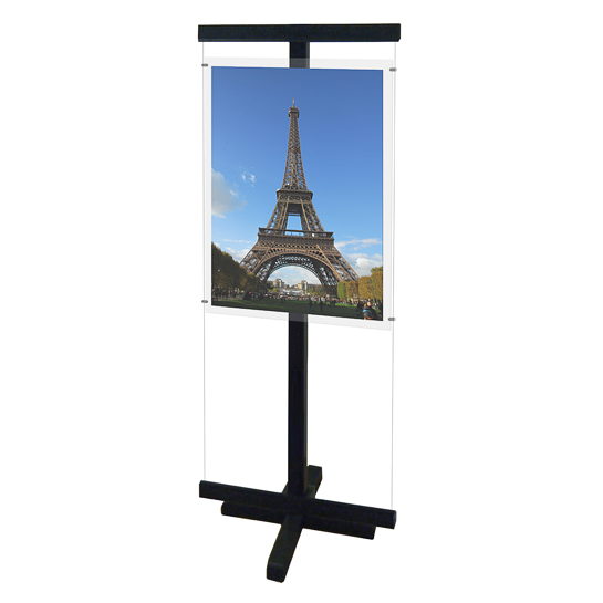Free Standing Display (A1) - Wood