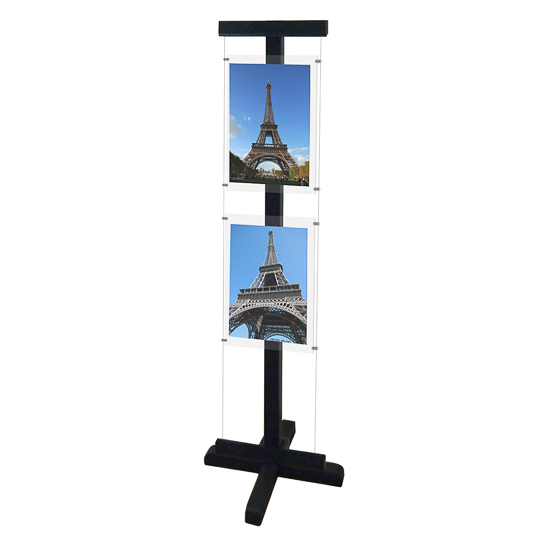 Free Standing Display (A3) - Wood