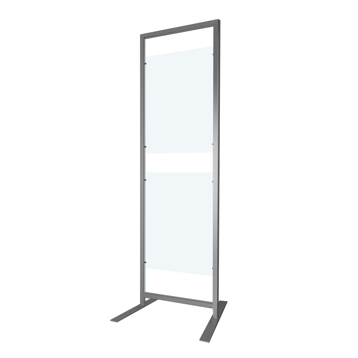 NEW* Free Standing Display Rack 200x60cm +A1 Panel Kit