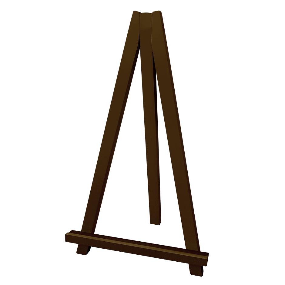 NEW* Greco Easel, brown, 50cm