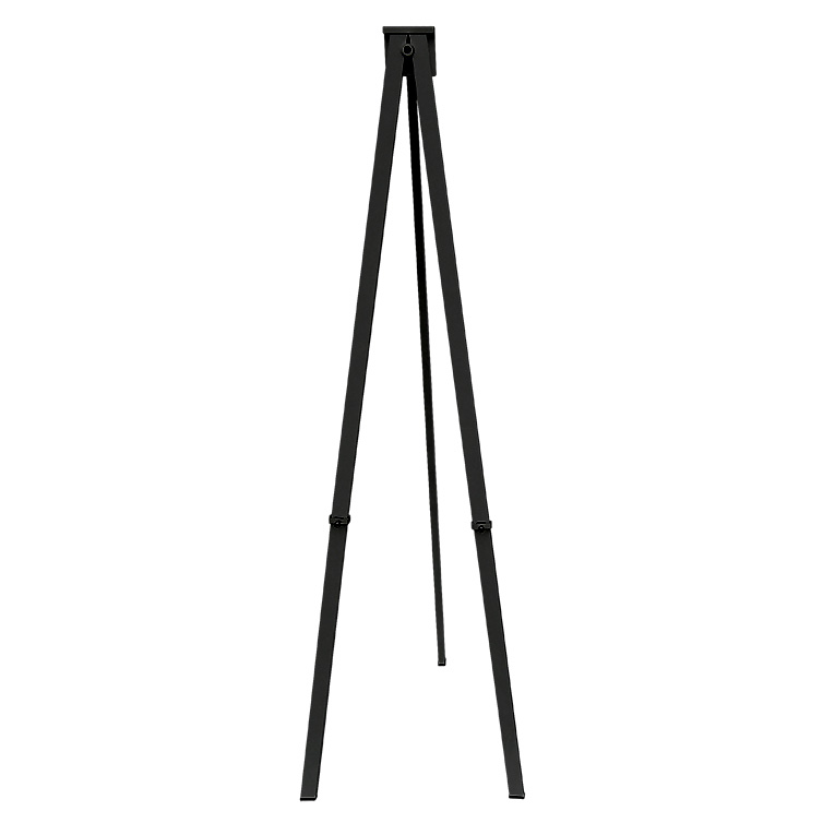 NEW* Greco Easel Metal, black, 250cm
