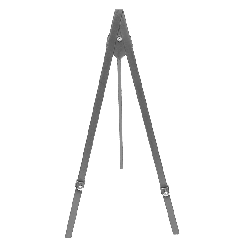 NEW* Greco Easel Metal, silver, 60cm