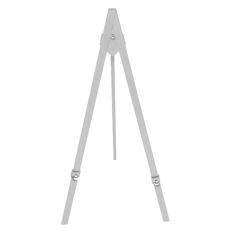 NEW* Greco Easel Metal, white, 60cm