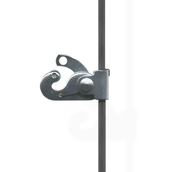 Classic Hook for Hanging Rod, 40kg (88lbs) <b>Security</b>