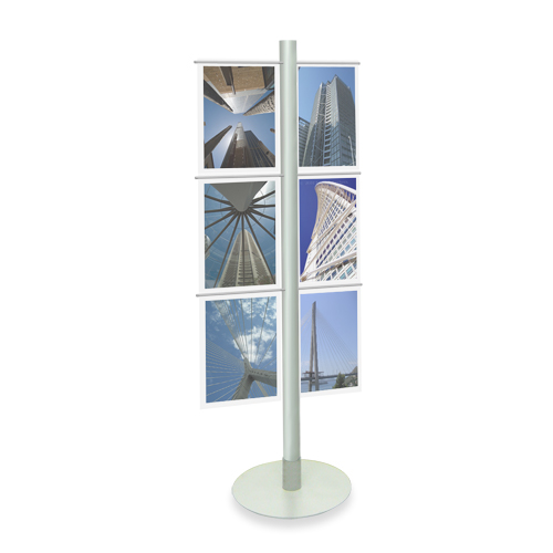 (A3) Acrylic Display Stand - Metal