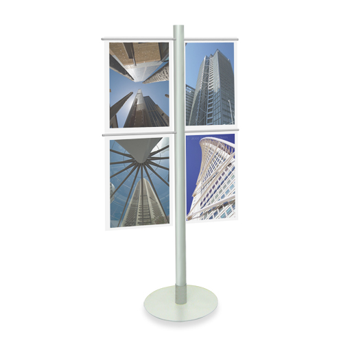 (A2) Acrylic Display Stand - Metal