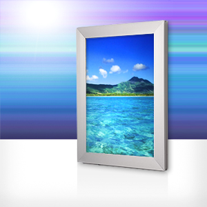 Light Box Frame, Silver • (A1)