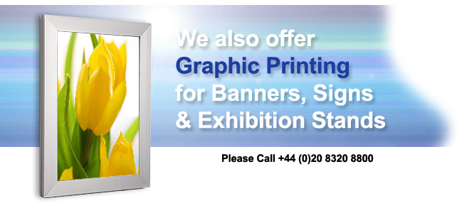 Light Box Graphic Printing Available! Please Call!