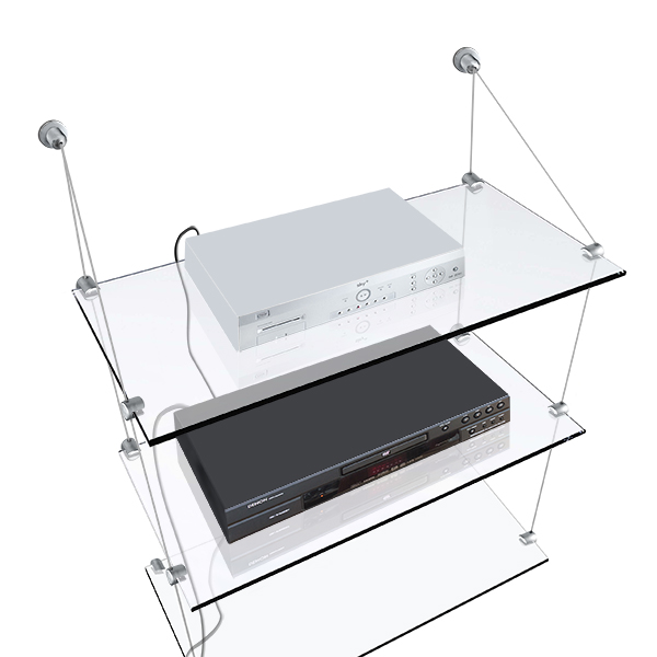 NEW* Drywall/Plasterboard Glass Shelf x3, 15x60