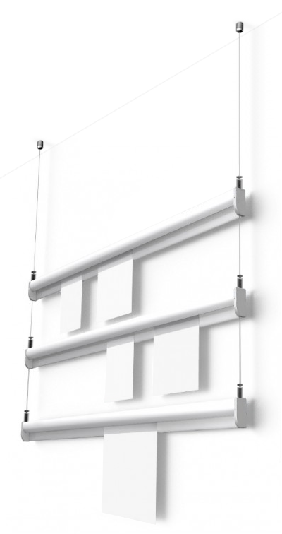 Suspended Paper-rail System