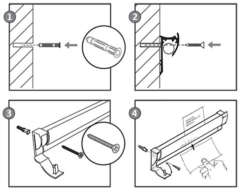 Paper Rail Install Guide