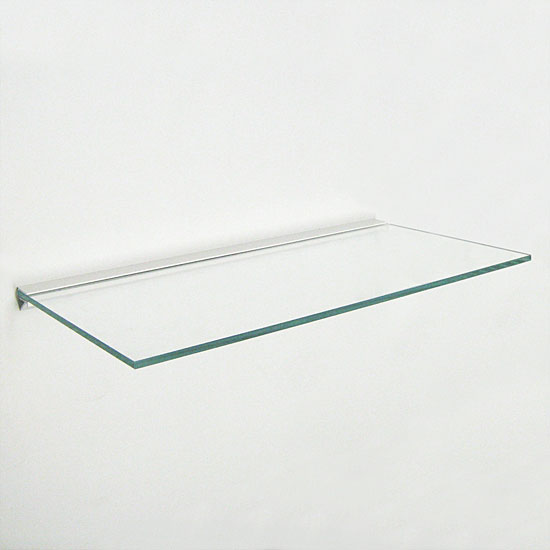 Glass Shelf - 15x60cm - Plasterboard/All Surface Bracket