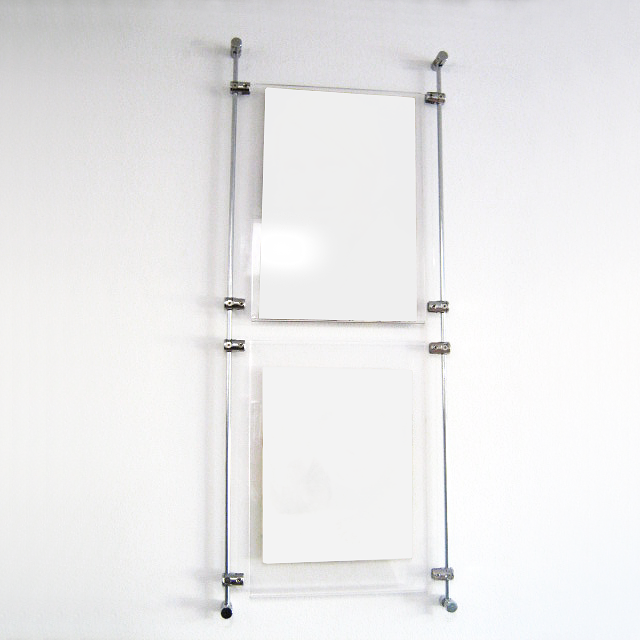 A4 Wall to Wall, Rod Display Kit