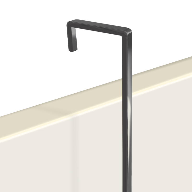 "Hanging Rod, 4mm screen black 1.5m (4ft 11"")"
