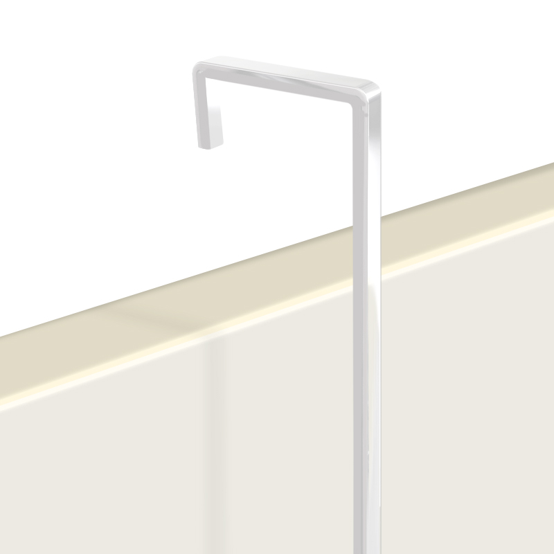 "Hanging Rod, 4mm screen white 3m (9ft 10"")"