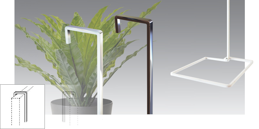 Plant Hanging on Screens / Partitions (Rods)