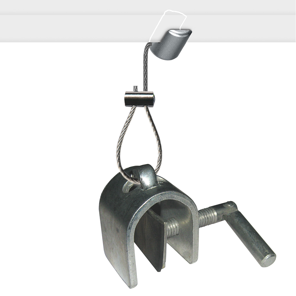 Suspended Ceiling Hanging 'Cable' Kit (Panel Clamp)