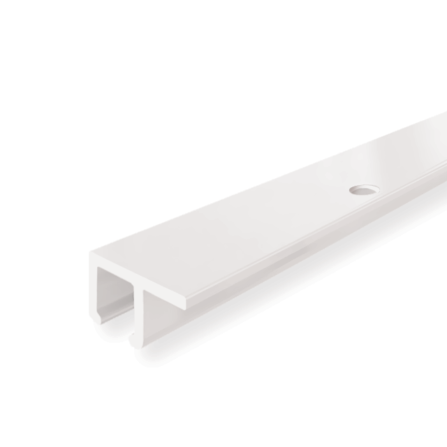 "U-Rail, white 2m (6ft 7"")"