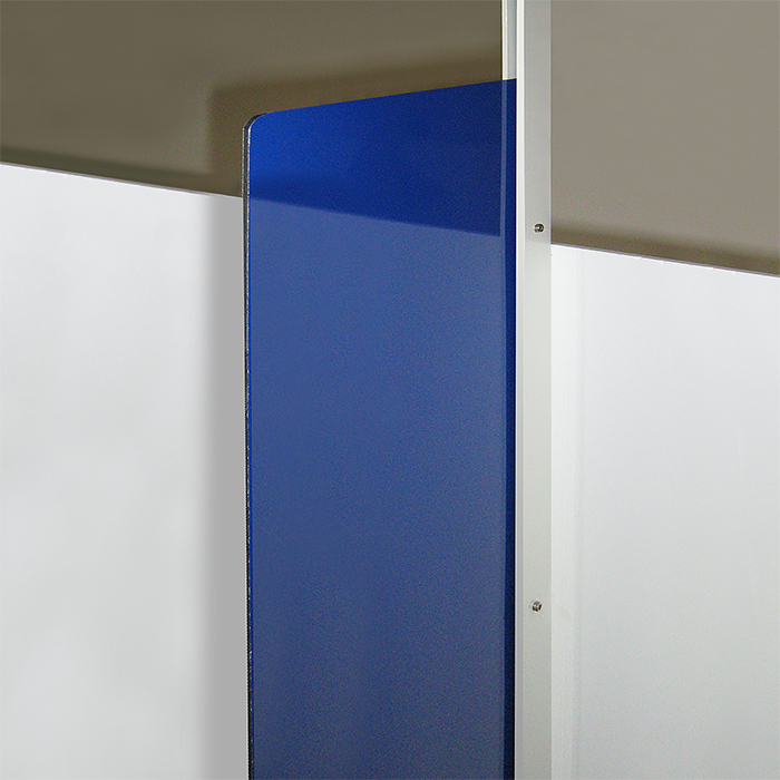 Vertical Bracket for Glass & Acrylic, 60cm