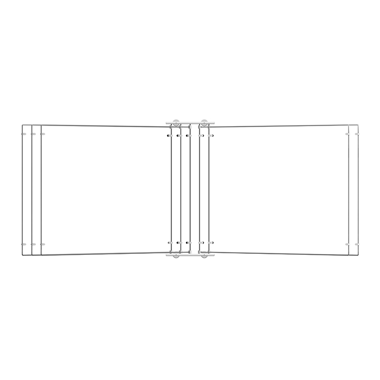 <b>Metal</b> Wall display browser,  A2 (x5) FRAME ONLY