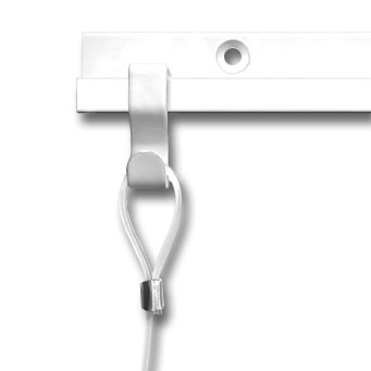 S-Hook Anchor, white