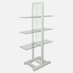 Free Standing Shelf Units, Wood