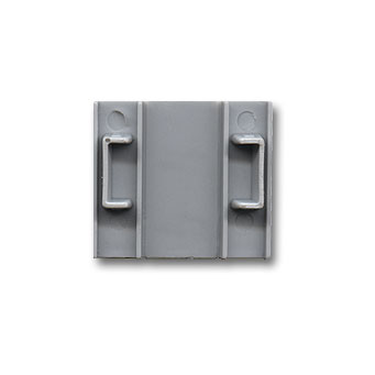 Max Endpiece/Corner Connector, Silver