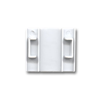 Max Endpiece/Corner Connector, White