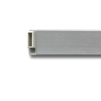 Clip Rail, corner connector silver
