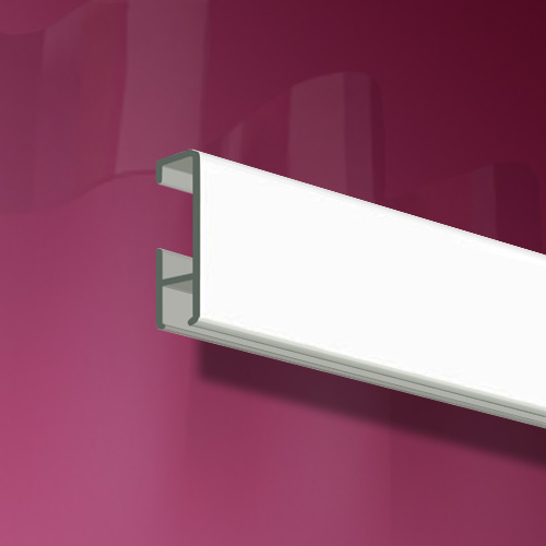 "Curtain Rail, white 2m (6ft 6"")"