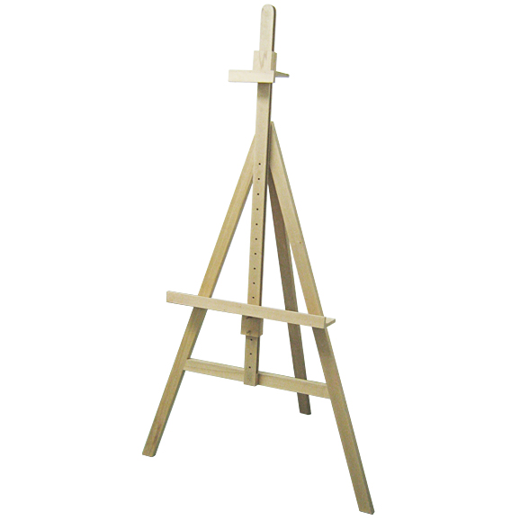 Tripod Easel, natural wood, 160cm