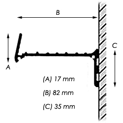 Empresa Shelf Dimensions