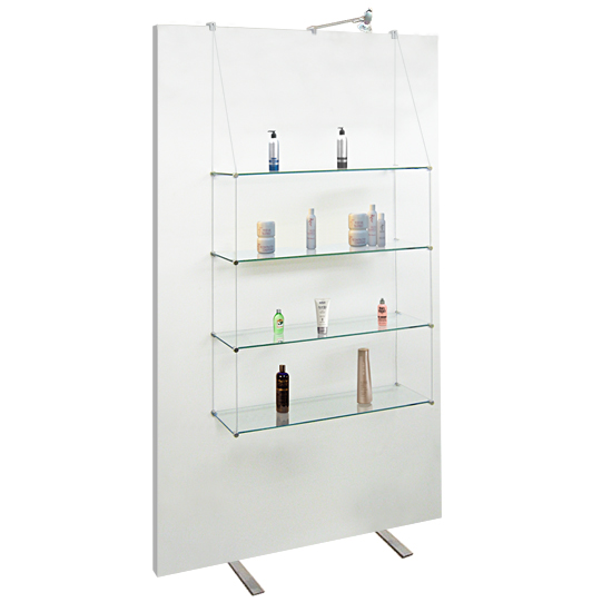 Exhibition 20x100 Shelves for Screens/Panels (x4)