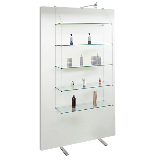 Exhibition 20x50 Shelves for Screens/Panels • <b>KIT, No Glass