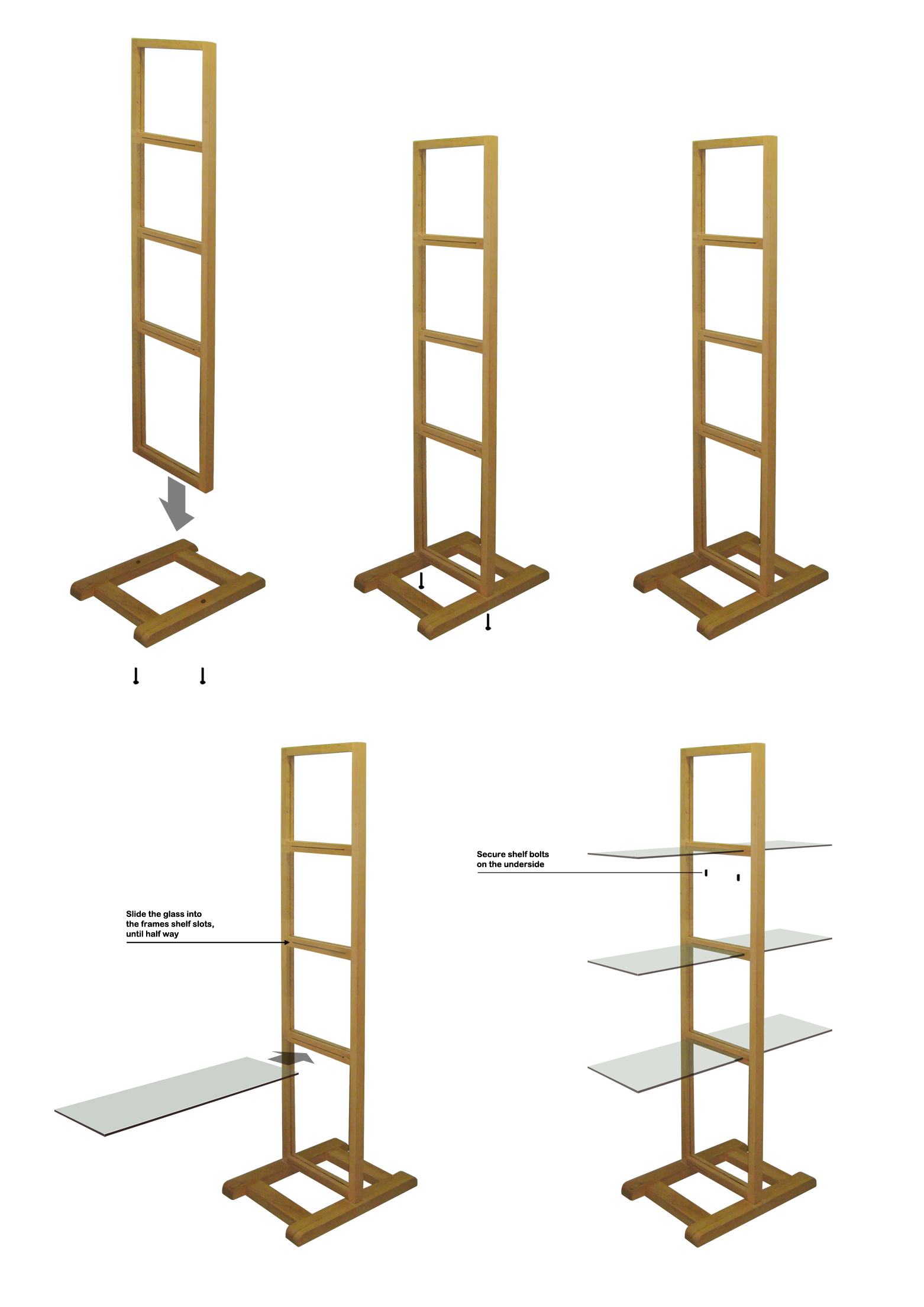 Simple Free Standing Shelf Plans Search Results Simple