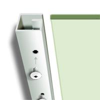 Glass Shelf Bracket, Fixing Screws