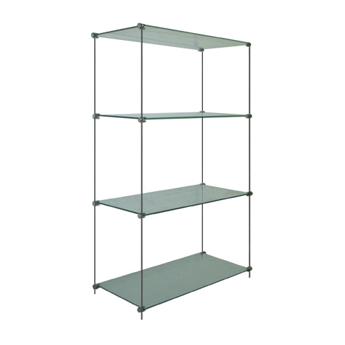 Glass Shelf Unit, 30x100